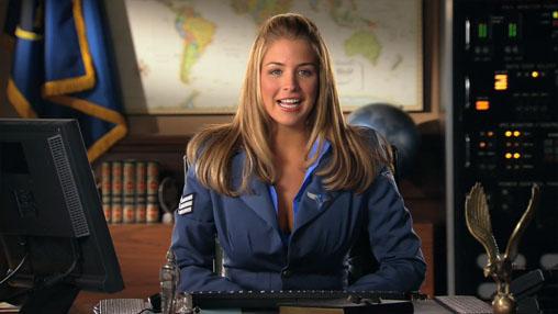 Gemma Atkinson Airborne
